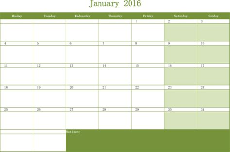 excel monthly calendar templates monthly work schedule template for free