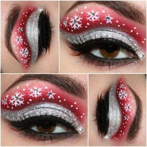 25 best ideas about christmas makeup on pinterest