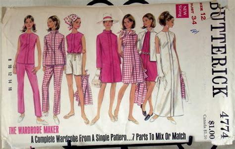 yara pattern matching wiki butterick 4774 vintage sewing patterns