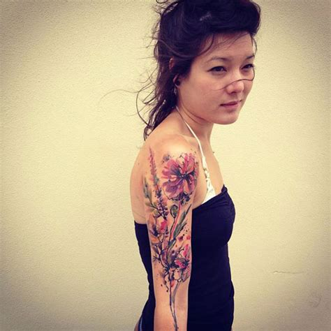 25 incredible watercolor tattoos