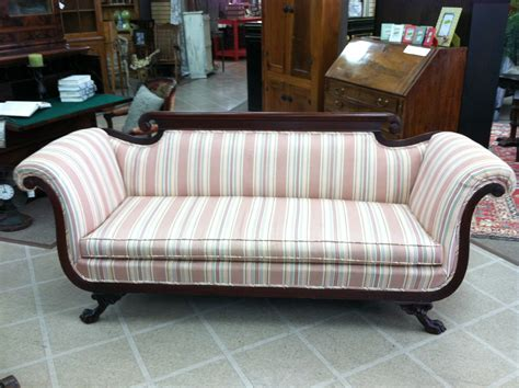 antique sofas for sale gorgeous antique duncan phyfe style sofa nicely carved