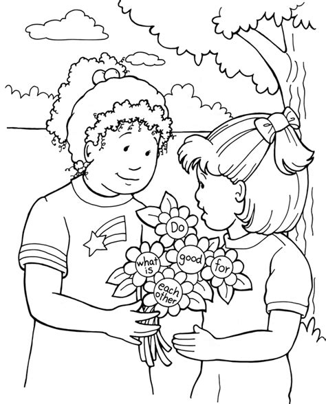 the gallery for gt kids helping coloring page