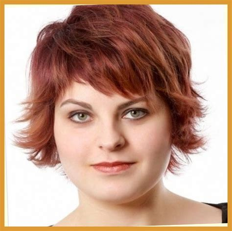 short haircuts for fat faces pics short haircuts for women with thin curly hair for fat