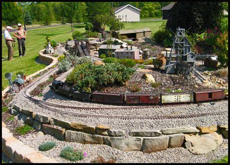 Garden Railroad by The Hoot N Holler Garden Railroad Kendal At Oberlin