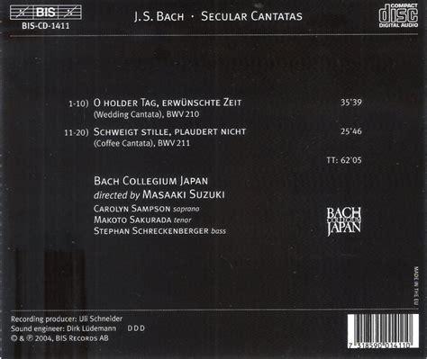 Bach Cantatas Suzuki Masaaki Suzuki Bach Collegium Japan Bach Cantatas