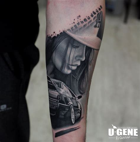 car related tattoos best 25 realistic sleeve ideas on arm