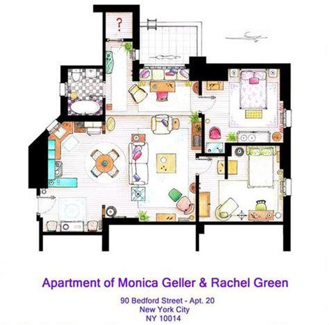 monica and rachel s apartment apartment of monica geller rachel green http www