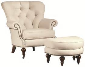 Ottomans Vienna Thomasville 174 Upholstered Chairs And Ottomans Vienna Tufted Back Chair With Nail Trim