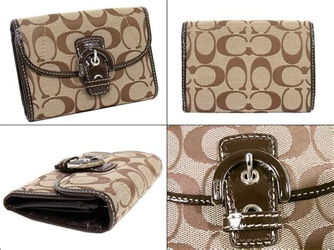 80712 Khaki Sale Promo Clutch Selempang Import import collection rakuten global market and writing coach coach reviews wallet 2 fold
