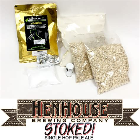 hen house brewery henhouse stoked pale ale 5 gallon partial mash extract