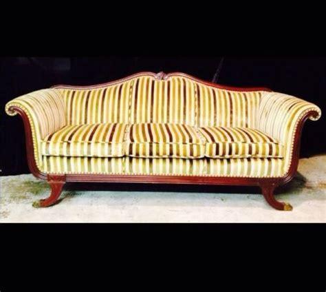 antique duncan phyfe sofa vintage sofa duncan phyfe mahogony wood duncan phyfe