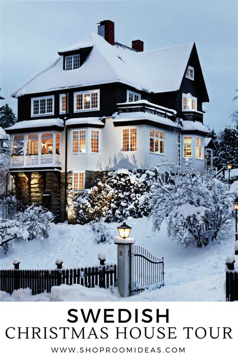 christmas house design swedish christmas house tour turn of the century stockholm villa shoproomideas