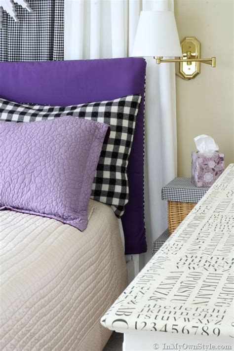 cover your own headboard easy sew reversible padded headboard cover in my own style