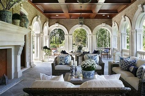 patio interior decor building a blue and white collection part 2 the