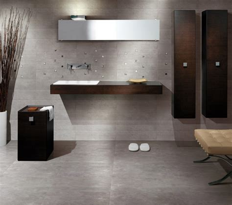 Bathroom Flooring Ideas Concrete Concrete Material Is Suitable To Be Applied On The