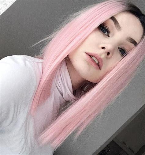 ideas  pastel pink hair  pinterest pale