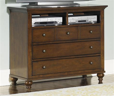 Suburban Furniture Nj by Liberty Furniture Hamilton Transitional Media Chest With 5