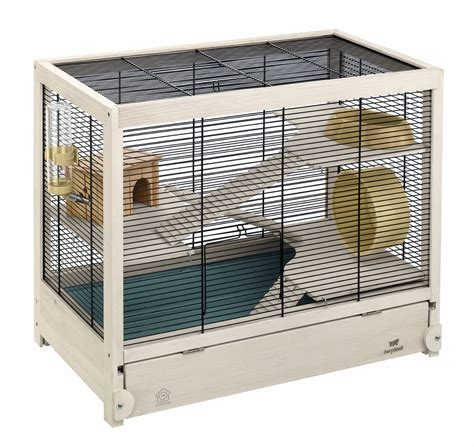 wooden cage wooden hamster cage hamsterville ferplast