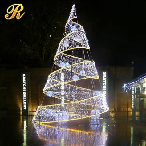 used commercial christmas decorations led christmas tree