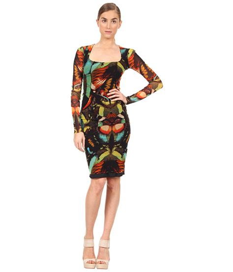 New Produk 43511 Dress Butterfly great product jean paul gaultier butterfly sleeve