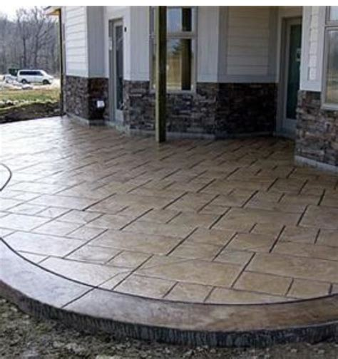 Good Looking Poured Concrete Patio Design Ideas Patio Poured Concrete Patio Designs
