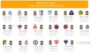 Calendario De Futbol 2017 Calendario De Tigres Para El Apertura 2017 Futbol