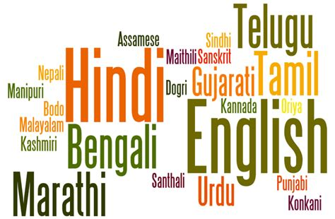 language history india history and culture languages spoken in india