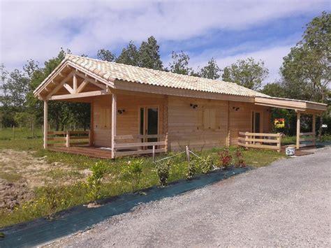 Bungalow Plans by Chalet Habitable De 80m 178 En Bois En Kit