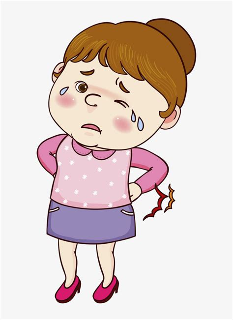 Aching Back Clipart
