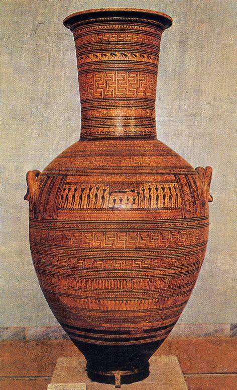 arte greca vasi la bottega dipylon arte greca