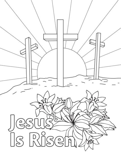preschool coloring pages about jesus has risen easter coloring pages best coloring pages for kids