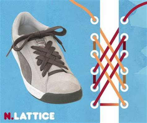 stylish shoe lacing methods
