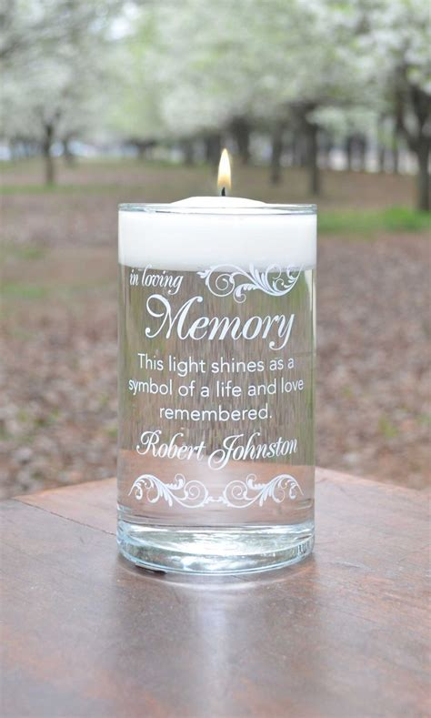 Serving At Your Wedding Our One 3 by In Loving Memory Wedding Candles In Loving Memory Candle