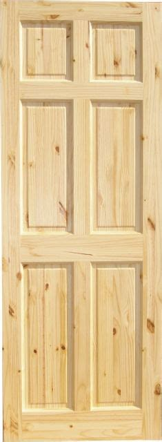 6 Panel Knotty Pine Interior Doors Knotty Pine 6 Panel Wood Interior Doors Homestead Doors