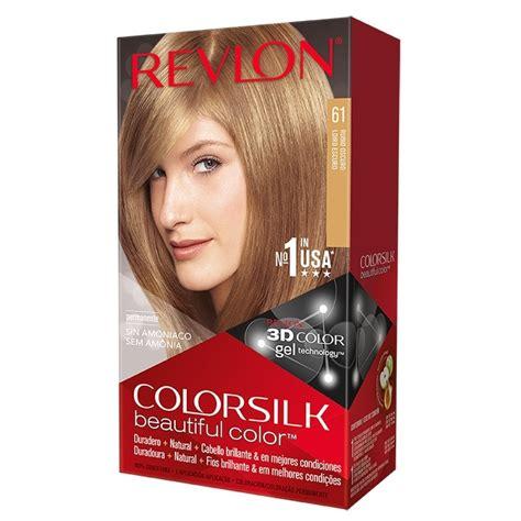 revlon color silk revlon colorsilk beautiful color n 186 61 rubio oscuro