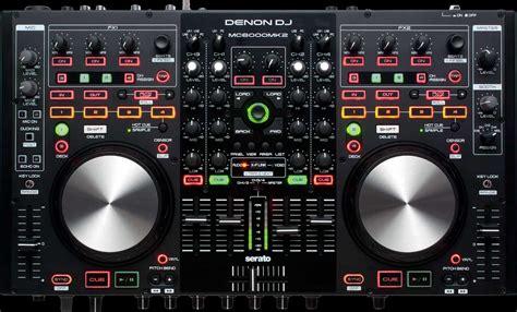 image de table de mixage denon table de mixage dn mc6000 mk2 lecteur
