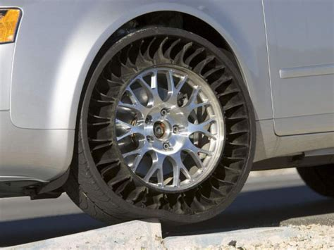 puncture resistance radial all weather michelin airless puncture proof radial tyres to be mass produced drivespark news