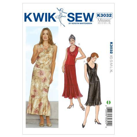patterns sewing joannes mccall pattern k3032 xs s m l x kwik sew pattern jo ann