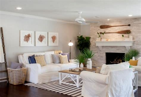 fixer upper beach house coastal home makeover for a ranch house by chip and joanna gaines completely coastal