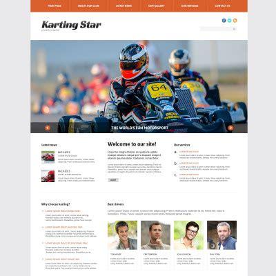 theme wordpress karting karting wordpress themes
