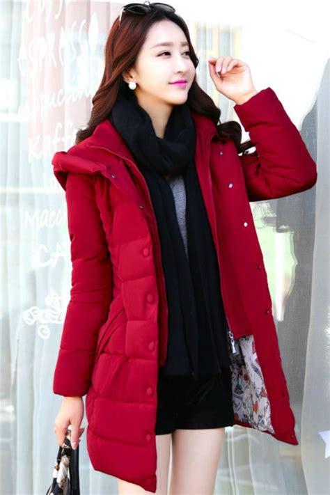 Jaket Wanita Sweater Wanita Hoodie Wanita Baju Dingin Wanita jaket musim dingin korea padded jacket jyb331703red coat korea