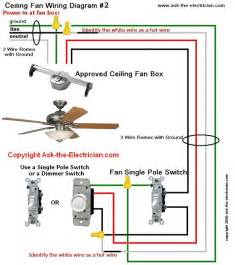wiring for ceiling fan with light ceiling fan wiring diagram 2