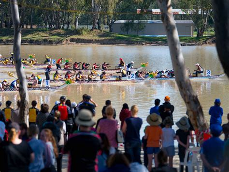 dragon boat racing horsham sports events victoria australia