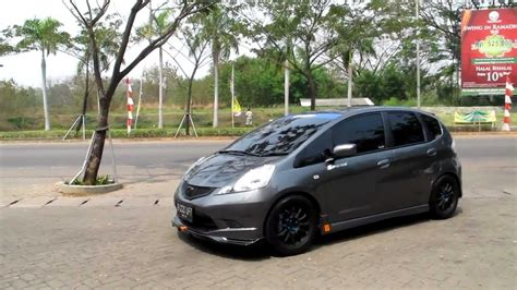 Coilover Costum Honda Jazz Rs Ge8 Honda jdm ge8 spoon style wannabe with hks hi power custom piping exhaust