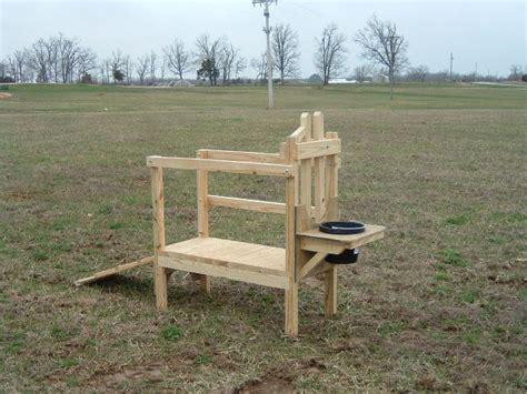 sheep shearing table plans goat stand farm critter ideas we
