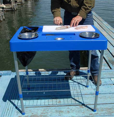portable fish cleaning table fish cleaning table sportsman s table