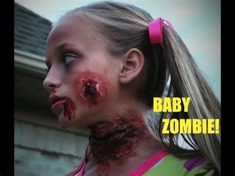 how to make a zombie baby youtube baby zombie my halloween costume youtube