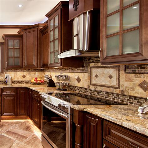 geneva  wood kitchen cabinets chocolate stained maple group sale aaa kcgn