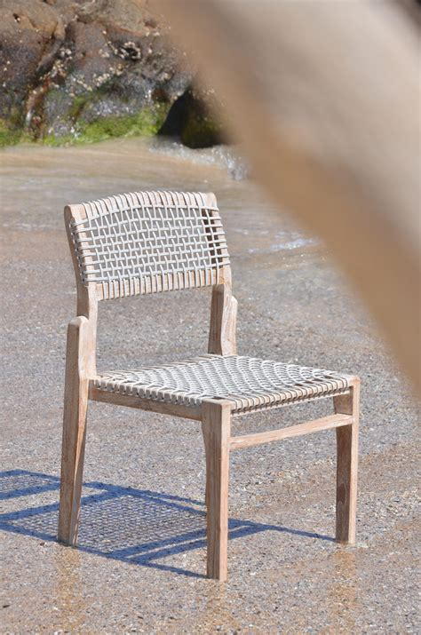 lisa rope dining chair aloha couture outdoor