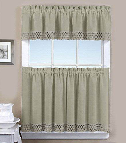 25 best window curtains tier valence combination sets